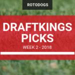 DraftKings NFL Picks Week 2 2018